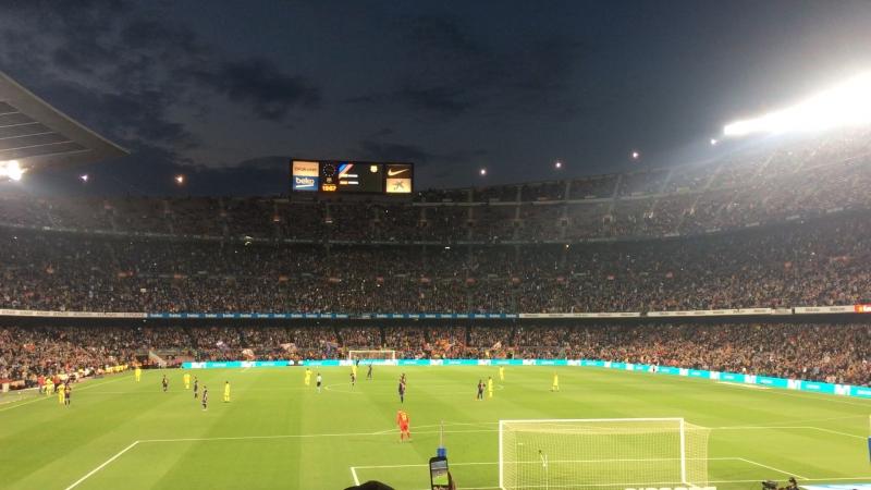 Barcelona 5 - 1 Villarreal camp nou