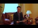 Памочнік Пасла Рэспублікі Карэя ў Беларусі Ю Хо Гел чытае верш Надыход Зімы