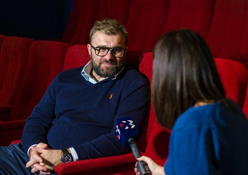 Михаил Пореченков открывает киностудию вСевастополе