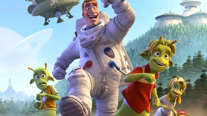 Планета 51 HD мультфильм 2009 12