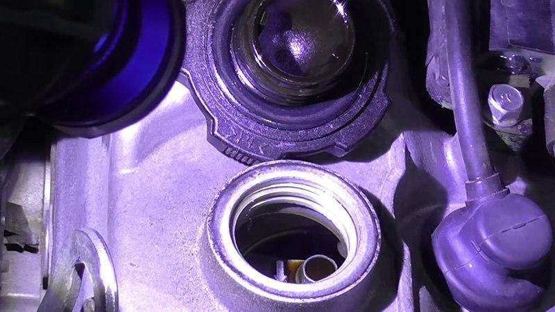 Новичкам про осмотр двигателя.