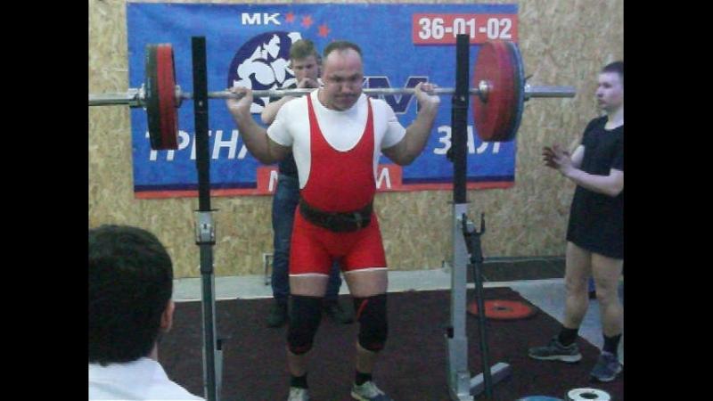 Чемпионат Костромской области по классическому пауэрлифтингу 2018 Присед 215 Д.Денисов