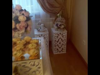 Свадьба очаровательной пары Давид и Армине #weddingdecor #furshetspb