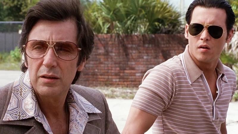 «Донни Браско»  1997  Режиссер: Майк Ньюэлл  триллер, драма, криминал, биография