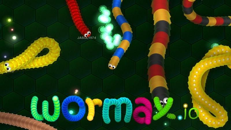 играл с братом в игру вету wormax.io