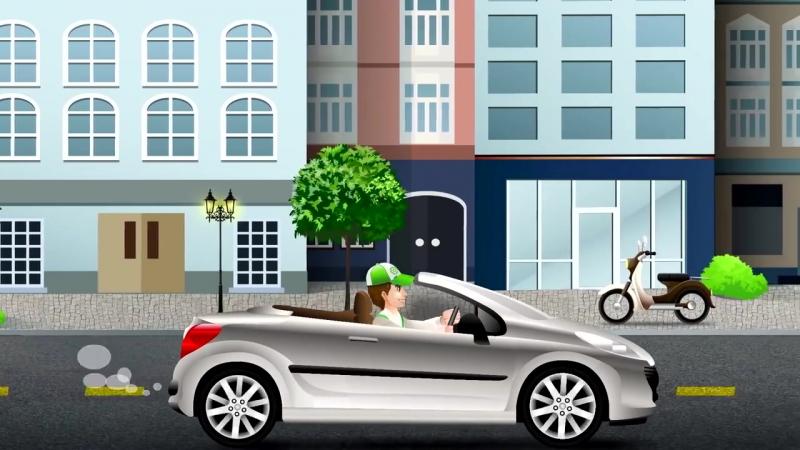 Развивающие мультики. мультфильм про светофор и скорую помощь
