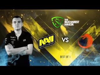 NAVI vs TNC @The Bucharest Major