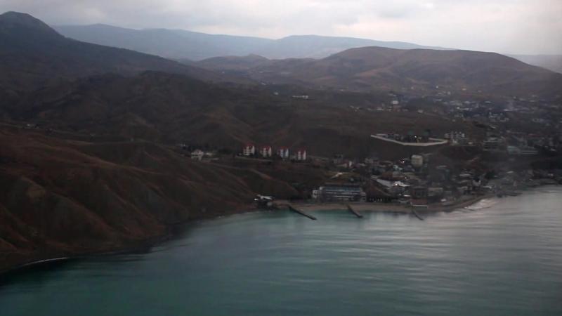 Пара-Крым. Полет над Кара-Дагом
