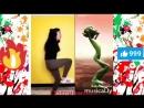 Зеленый человечек танцует 2. Кто круче