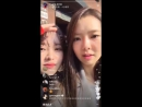 171126 HyoEuns Instagram Live 01 Fit Mobile Screen With Chat Version