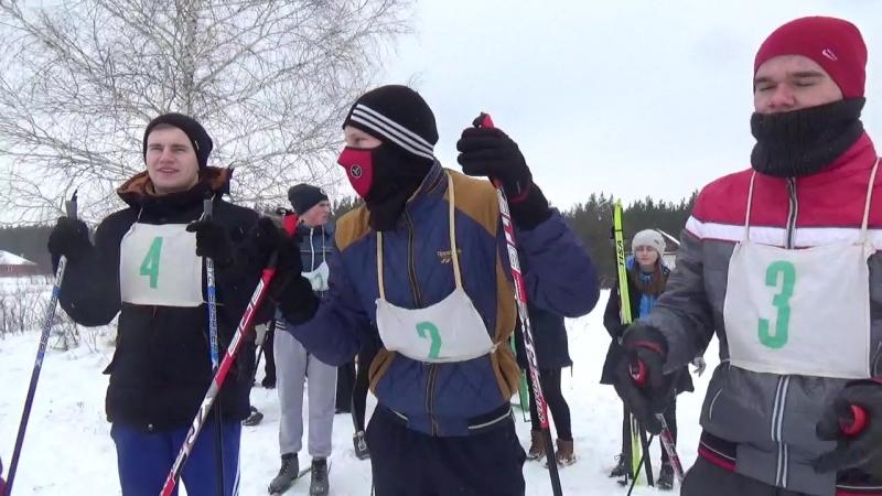 Лыжные гонки, районные соревнования - 2018, с. Тишанка