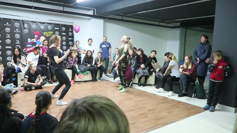 Женя vs Катя Чистохина /Dancehall beg.