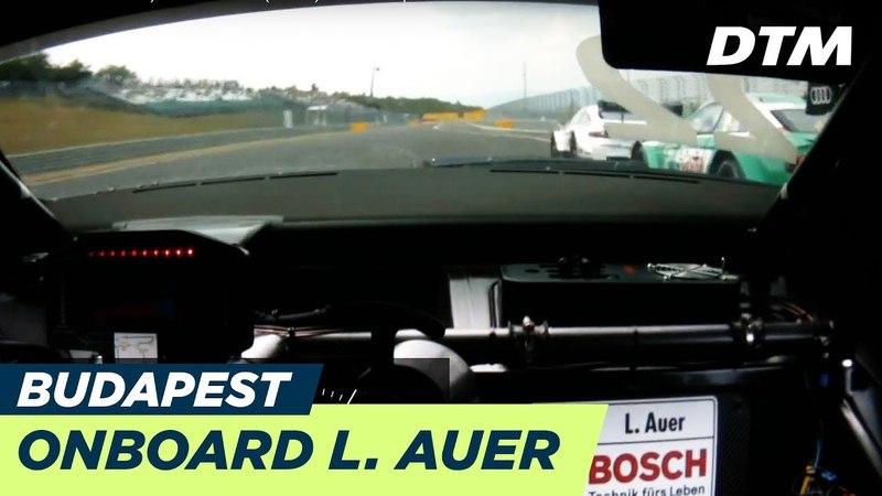 DTM Budapest 2018 - Lucas Auer (Mercedes-AMG C63 DTM) - RE-LIVE Onboard (Race 1)