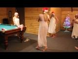 Студия танца на пилоне Signora Snella. Новогодний корпоративчик 2017 - 2018