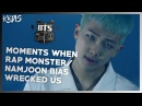 BTS RAP MONSTER/NAMJOON - MOMENTS WHEN HE BIAS WRECKED US