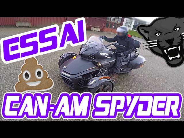 CAN-AM SPYDER F3 | ESSAI WTF?! | 💩Une voiture pour motard..💩