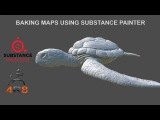 Baking Maps using Substance Painter 2017 and Zbrush 4R8 - Part 06