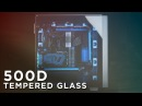CORSAIR Obsidian 500D - Two Tempered Glass Side Doors