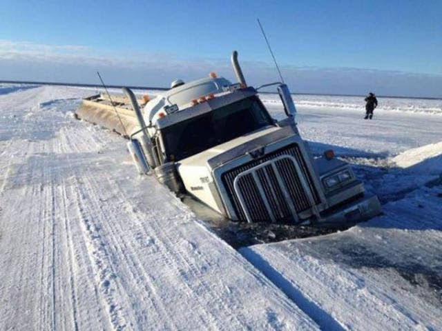 Дороги севера России, ледяной капкан!/Roads north in Russia, ice trap!