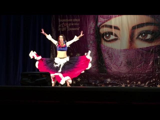 Anastasia Nevskaya 2 place PROFESSIONALS in the championship in Oriental dance in Samara 2017
