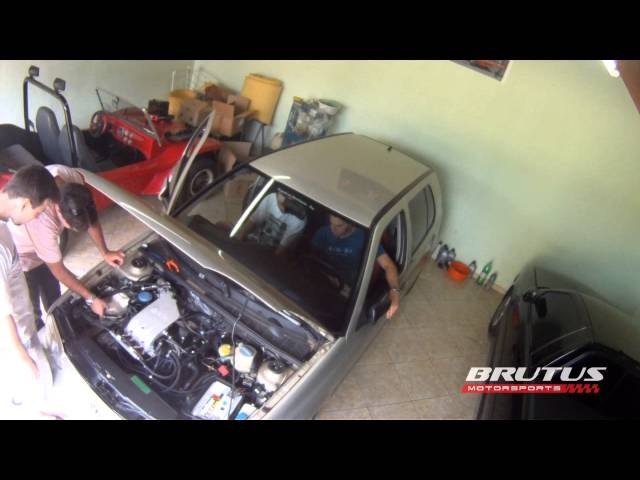 VW Golf MK3 2.0 Turbo Primeira Partida do motor