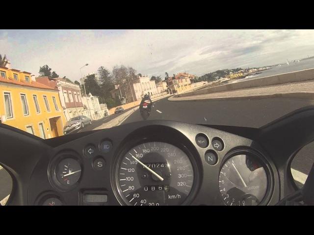 Marginal Cascais - A5 CBR 1100 XX ; GSXR 750 K8 ; CBR 1000 RR ; BMW S 1000 RR