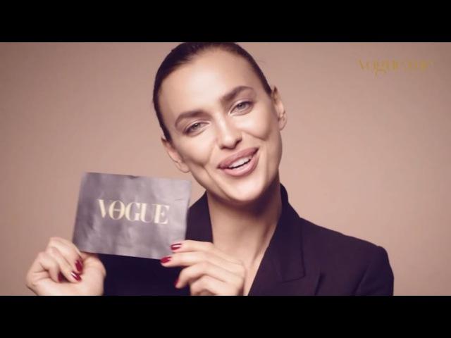 Irina Shayk for Vogue Arabia