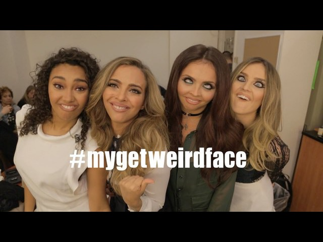 Since 'Get Weird' is OUT NOW we wanna see the weirdest faces you can pull! Post them using MyGetWeirdFace so we can seeeee! Here's a few we made earlier...😜😂🙈 The Girls x smarturl.it/LMGWdlx