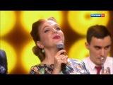 Марина Девятова и Алексей Воробьев - Песня про зайцев (Необыкновенный огонек) HD