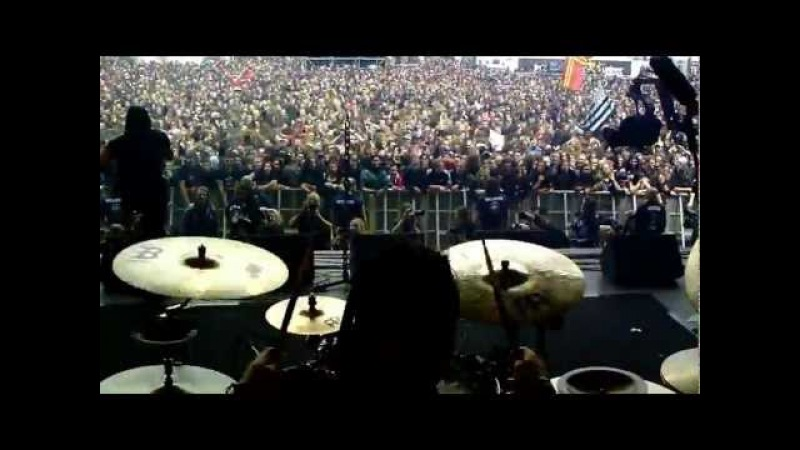 DAGOBA @ HELLFEST Behind The Drumkit Angle