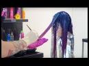 ЦВЕТНОЕ ОКРАШИВАНИЕ TiGi как красить волосы в СИНИЙ ФИОЛЕТОВЫЙ РОЗОВЫЙ ЦВЕТ