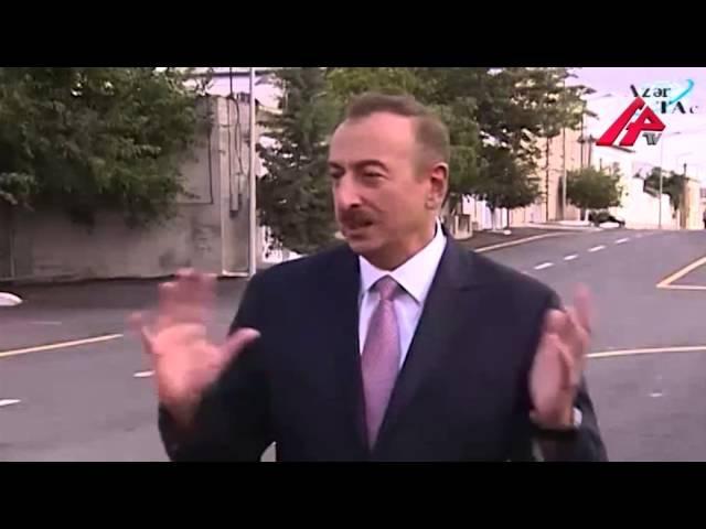 Prezident İlham Əliyev Maştağa sakinləri ilə görüşdü 030913
