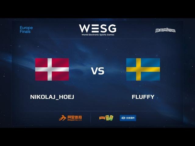 Nikolaj_Hoej vs Fluffy, WESG 2017 Hearthstone European Qualifier Finals