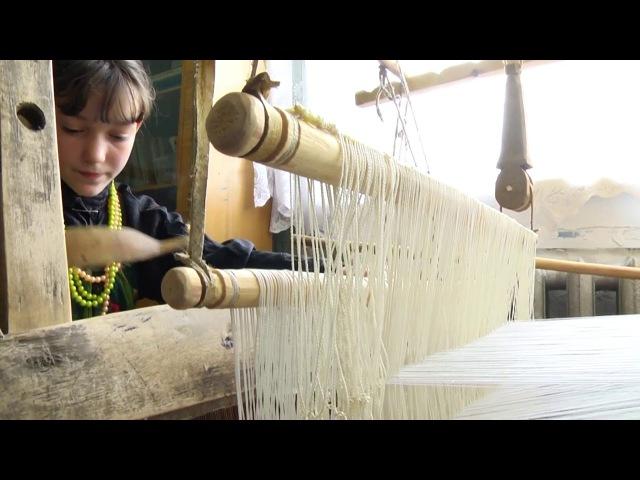Технологии народных художественных промыслов семейских Ткачество