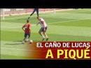 ¡Qué pillo Lucas Vázquez Mira lo que le intentó hacer a Piqué Diario AS