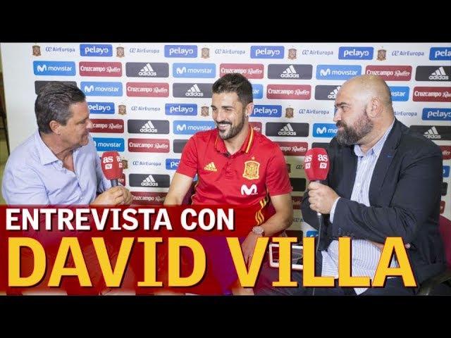 David Villa: Estoy más emocionado que otras veces | Diario AS