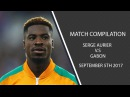 Serge Aurier vs Gabon 05 09 17 HD