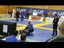 European Open BJJ 2014 Blue belt Adult Open class 1 4 Final Anton Seleznev André Fichtner