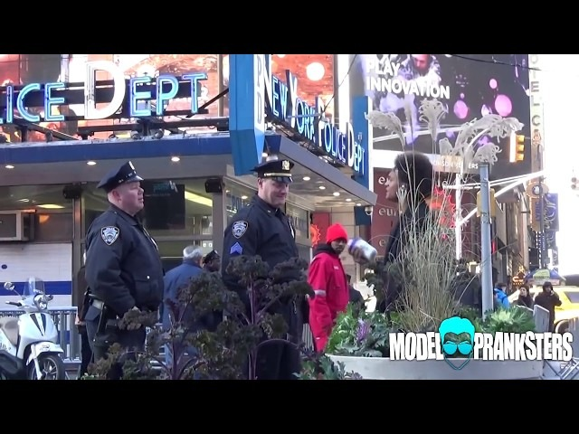 Shaking Protein In Front Of Cops Prank