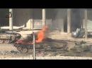 Сирия попадание в танк Т 72