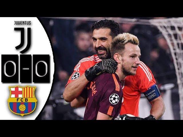 Juventus vs Barcelona 0-0 Resumen Highlights UCL 22/11/2017