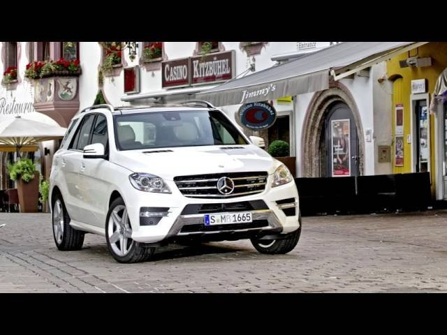 Mercedes Benz ML 250 BlueTec AMG Sports Package W166 2011–15