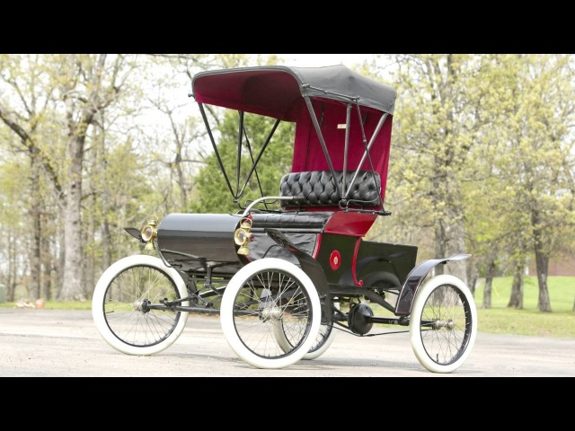 Oldsmobile Model R Curved Dash Runabout '1902
