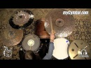 Meinl 22 Byzance Extra Dry Medium Ride Cymbal - Anika Nilles - 2909g (B22EDMR-1111615B)
