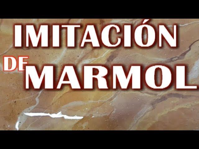 Imitación de Mármol, papa paredes, columnas, suelos, encimeras, mesas, muebles