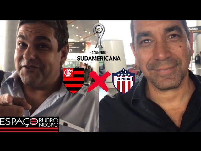 Missão Flamengo x Barranquilla! Encontro com João Guilherme, Zinho e história de torcedores locais!