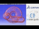 Catia video 1 Mesh processing Reverse engineering for beginners