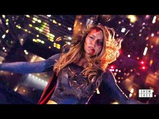 Supergirl 3x09 Ending Scene Reign vs Supergirl Fight part #2