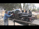 2 1/2 scale live steam shays West Side Lumber 14 and 15 double header