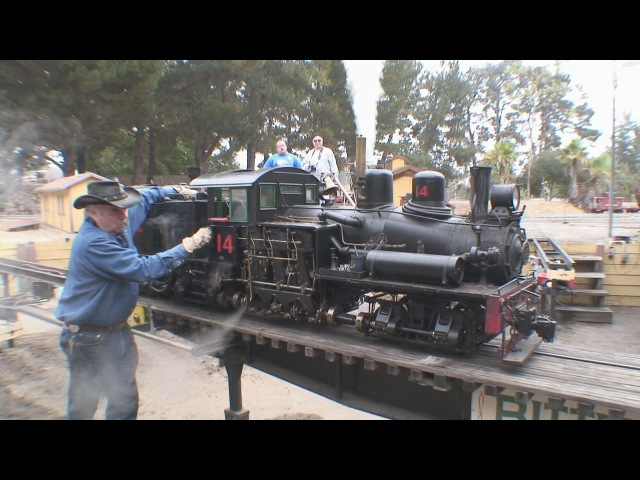 2 12 scale live steam shays West Side Lumber 14 and 15 double header